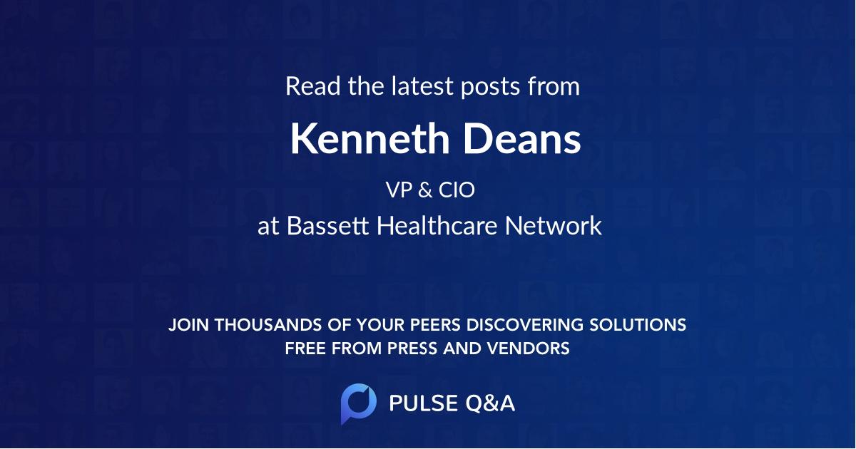 Kenneth Deans