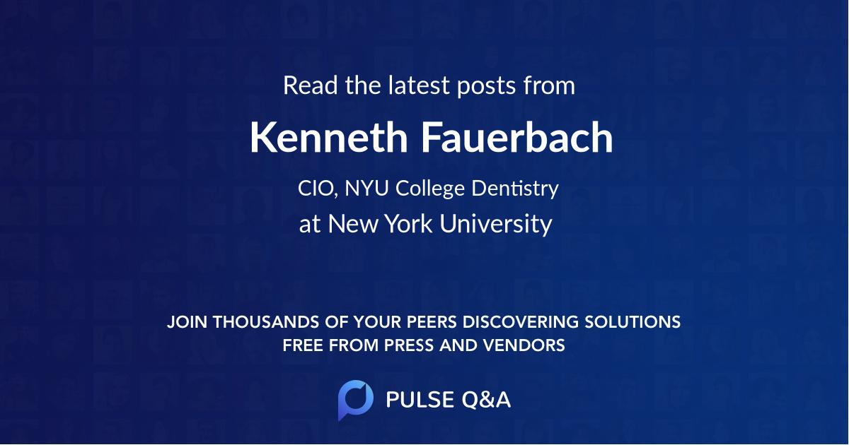 Kenneth Fauerbach