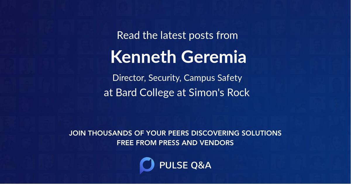 Kenneth Geremia