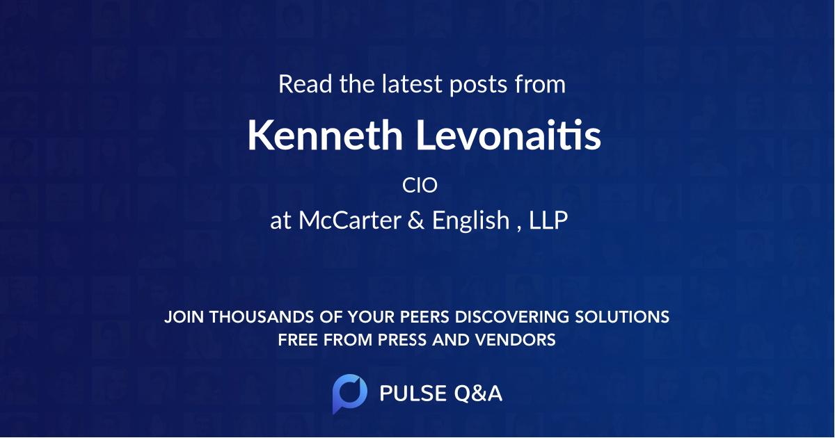 Kenneth Levonaitis