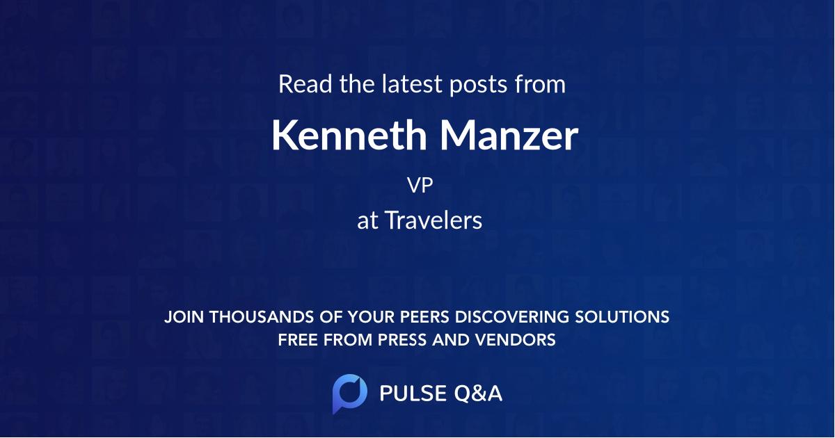 Kenneth Manzer