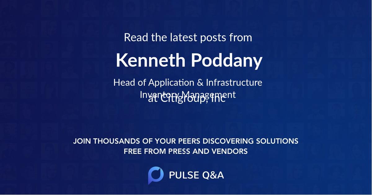 Kenneth Poddany