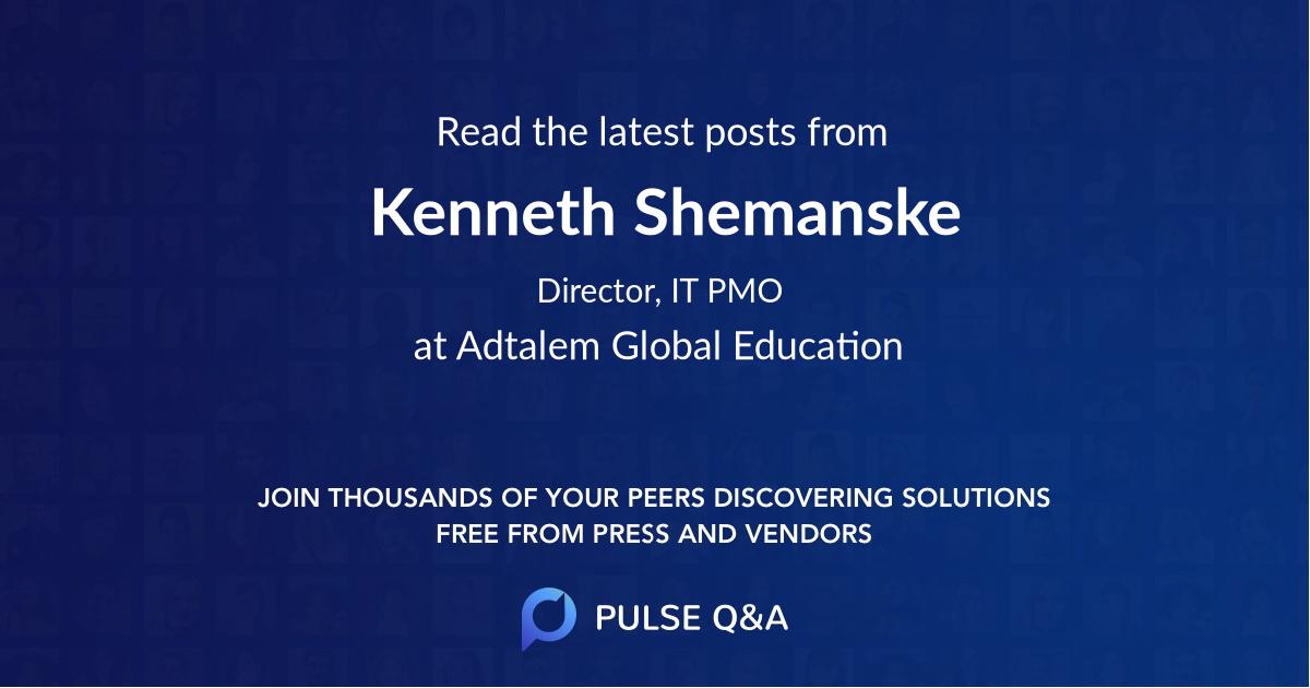Kenneth Shemanske