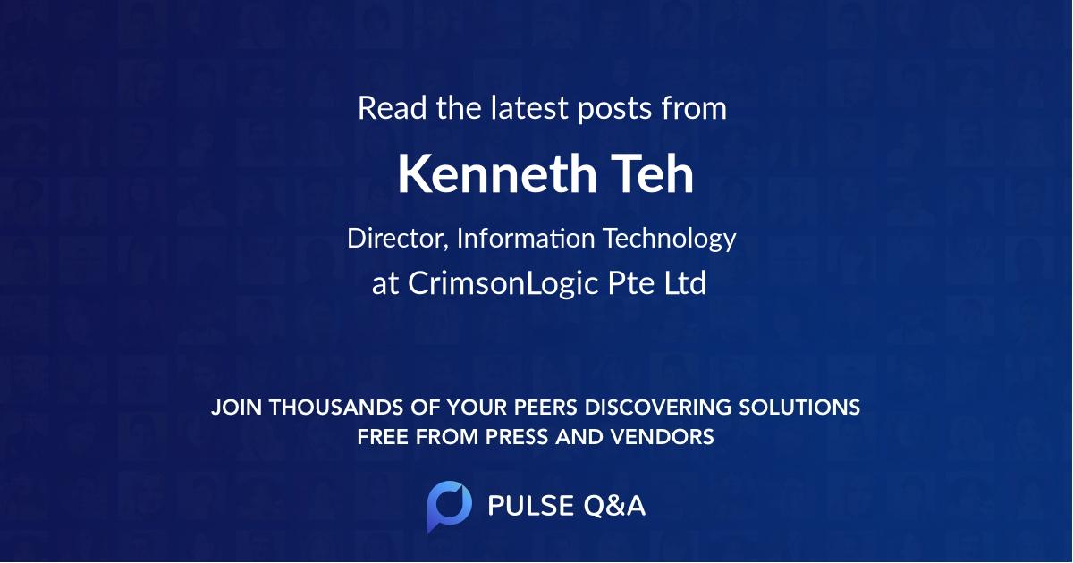 Kenneth Teh