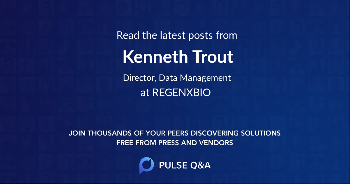 Kenneth Trout