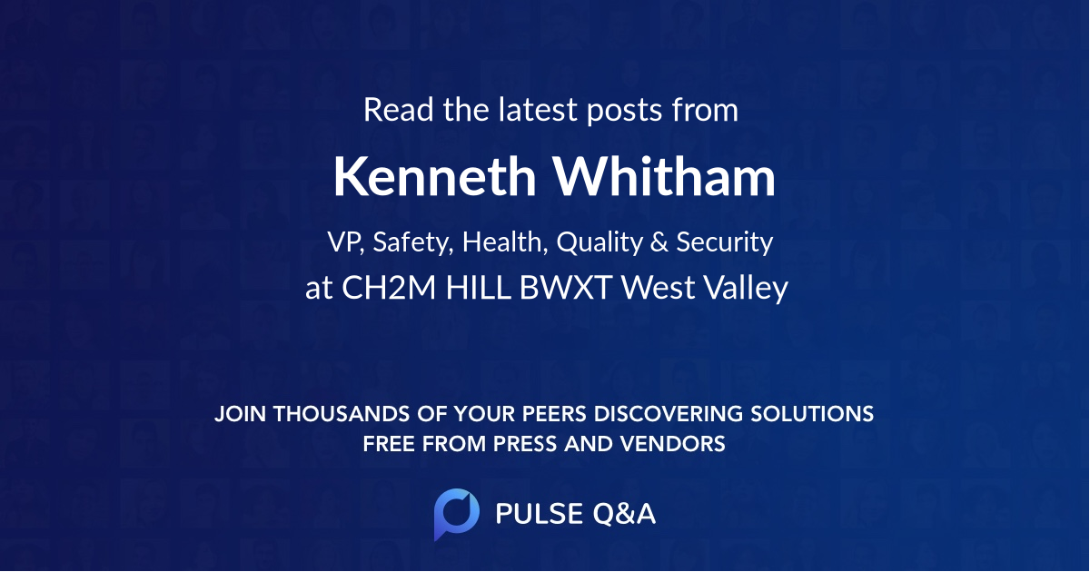Kenneth Whitham