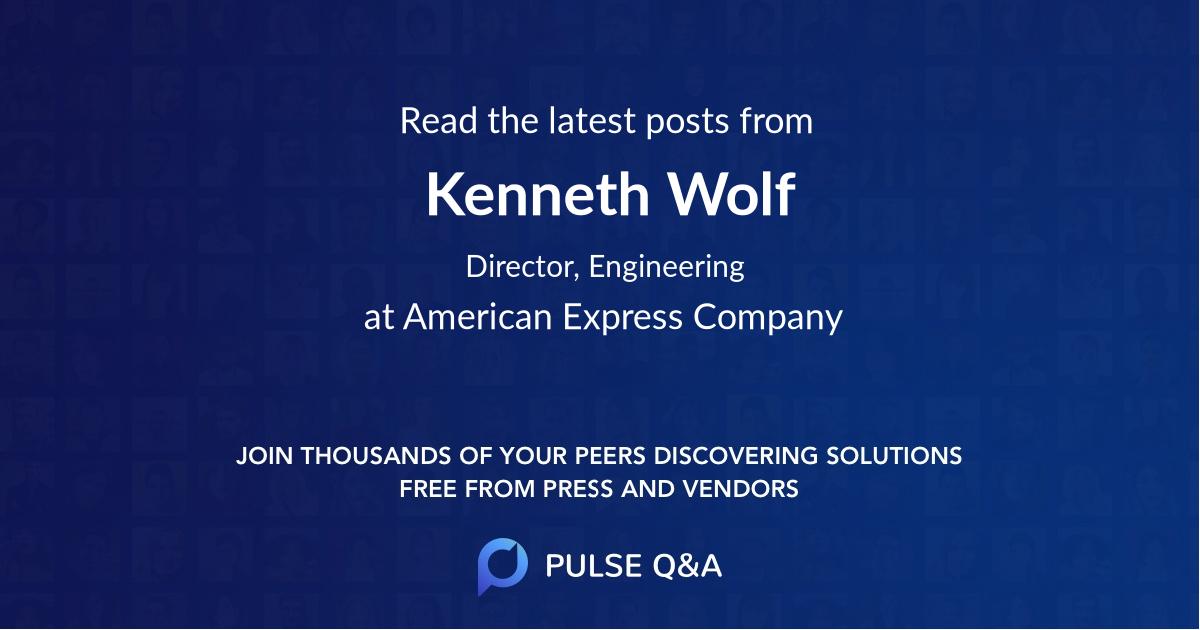 Kenneth Wolf