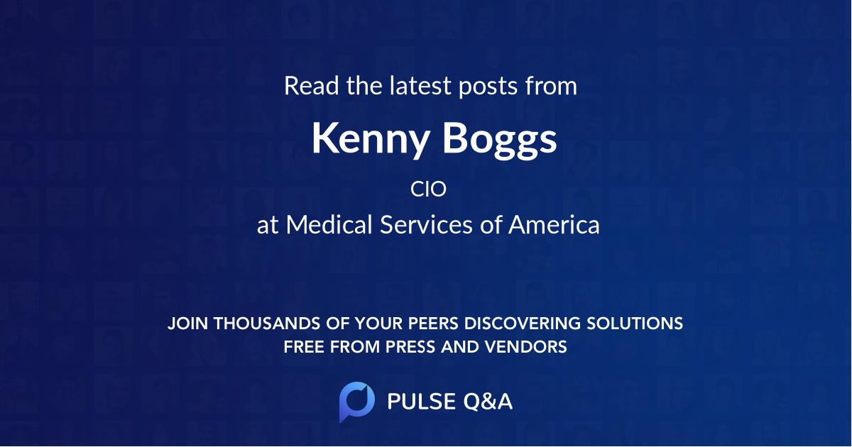 Kenny Boggs
