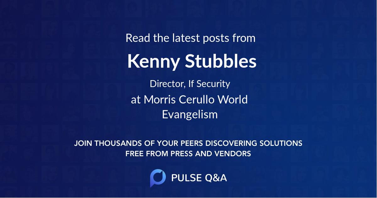 Kenny Stubbles