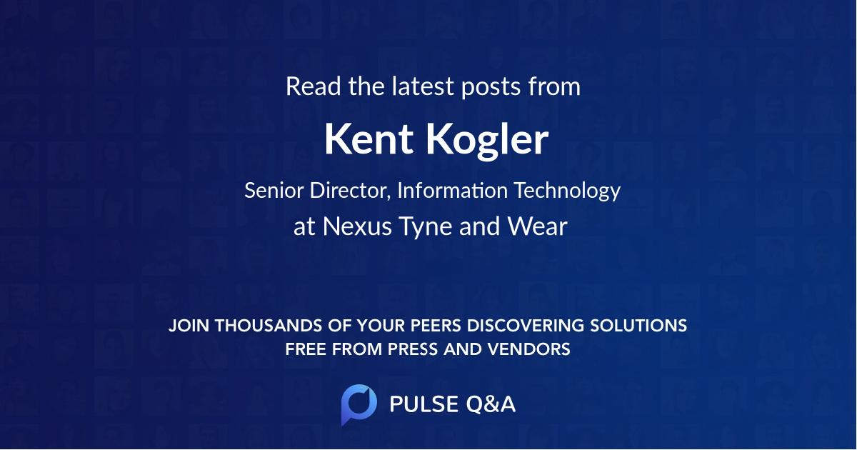 Kent Kogler