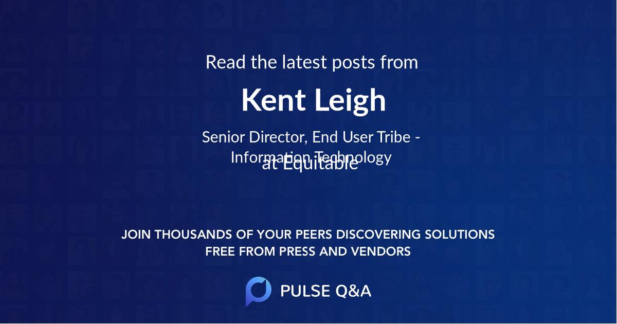 Kent Leigh