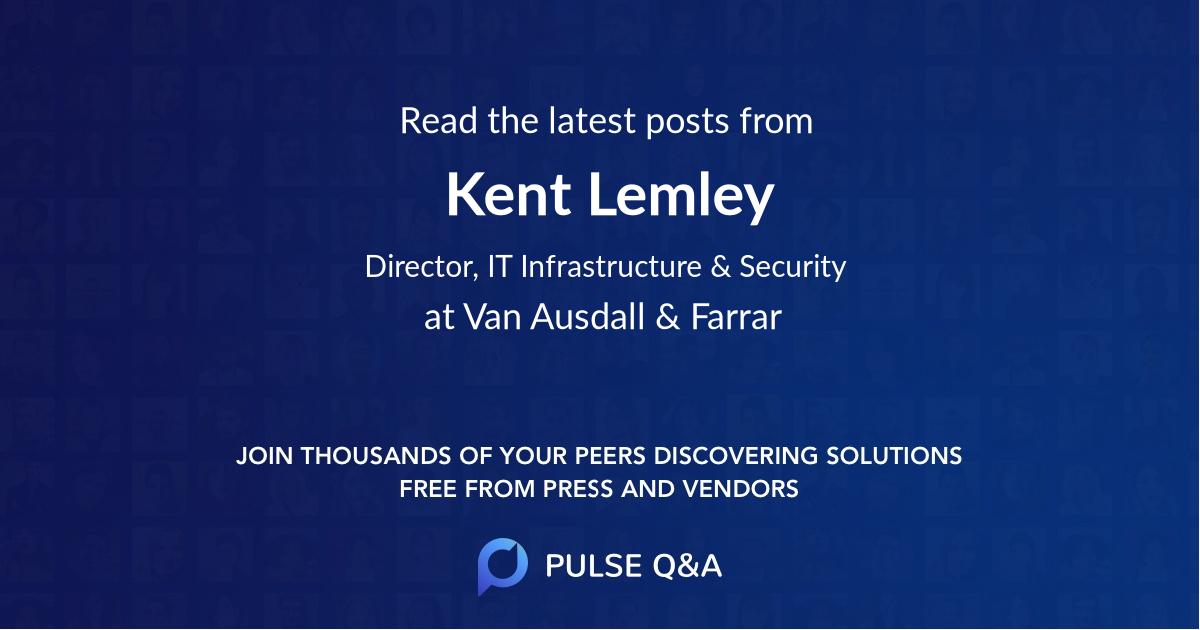 Kent Lemley