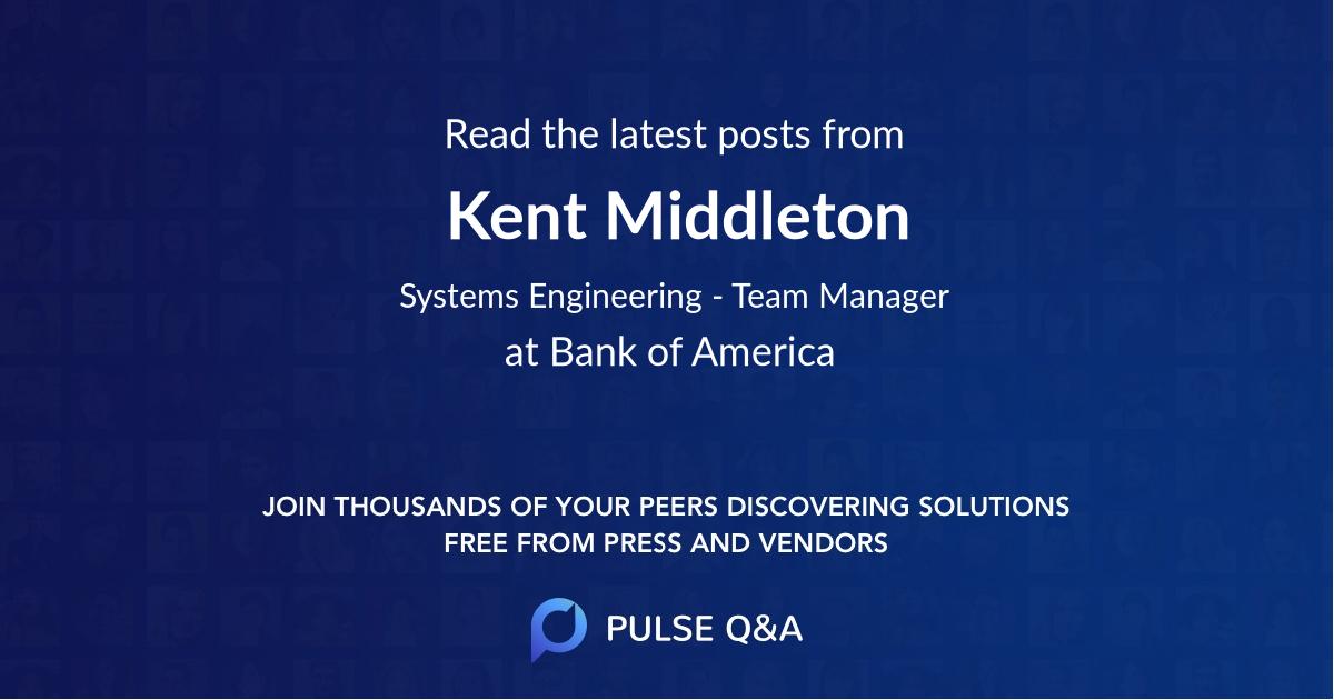 Kent Middleton