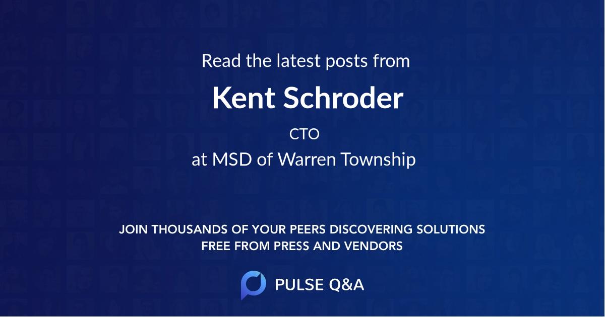 Kent Schroder