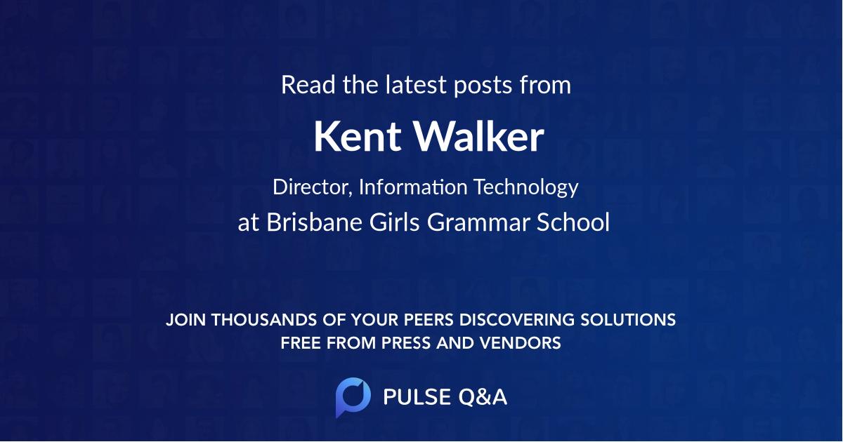 Kent Walker