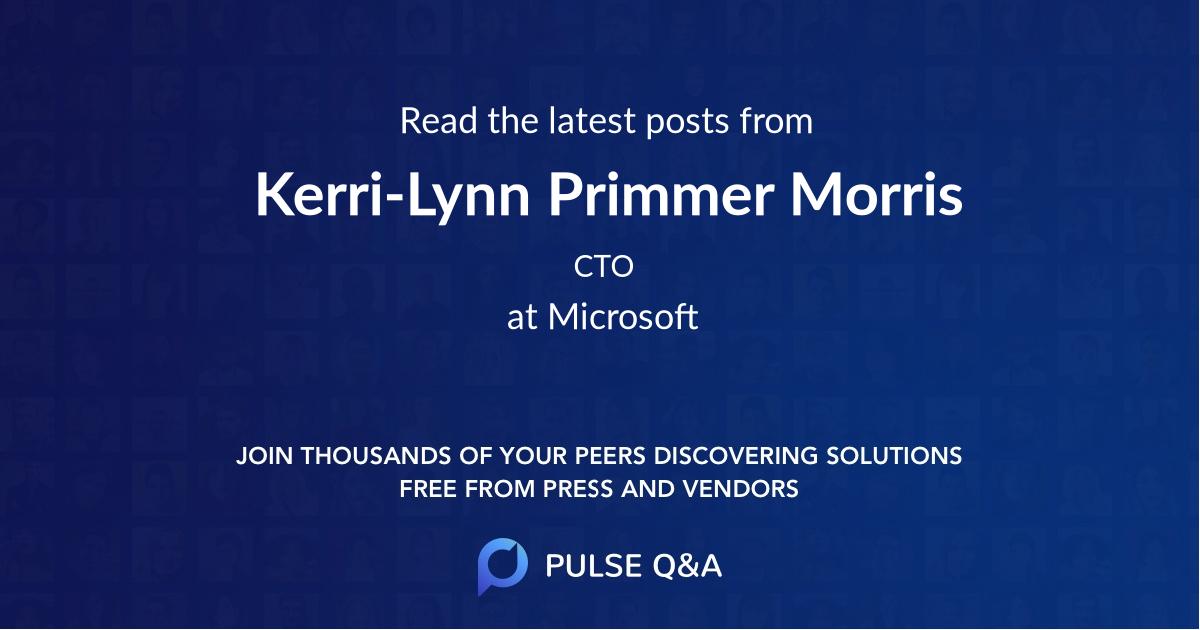 Kerri-Lynn Primmer Morris