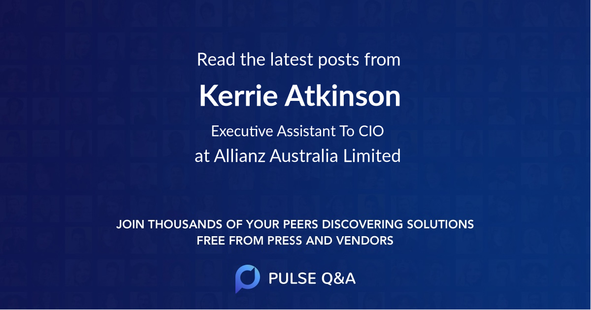 Kerrie Atkinson