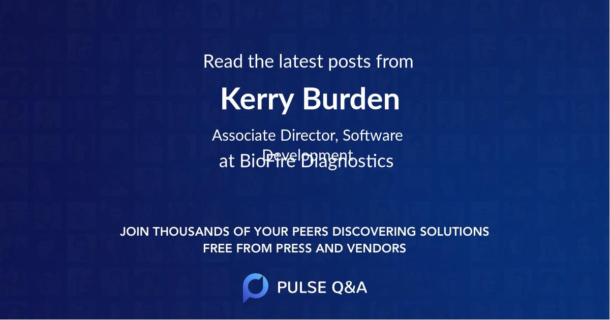 Kerry Burden
