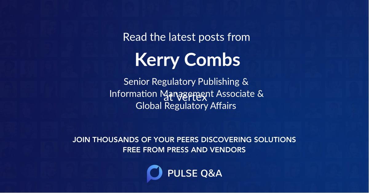 Kerry Combs