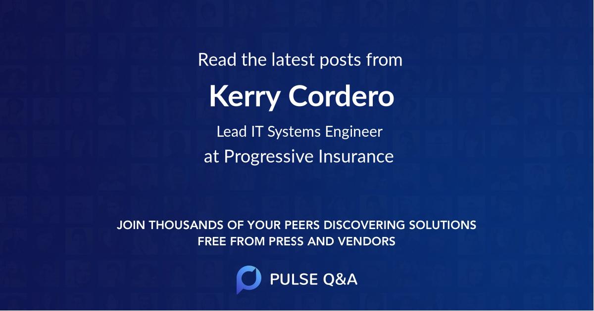 Kerry Cordero