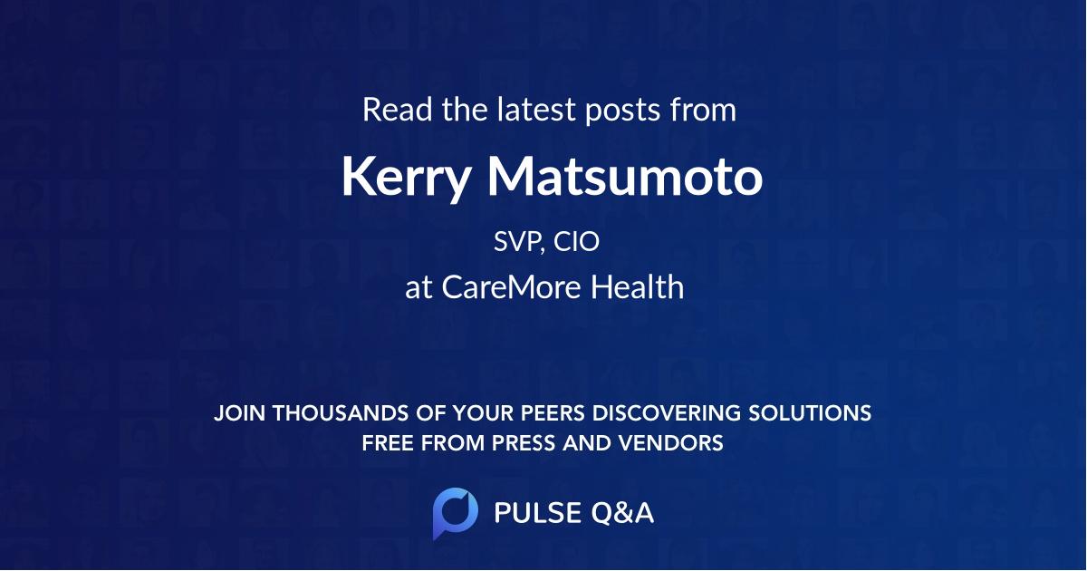 Kerry Matsumoto