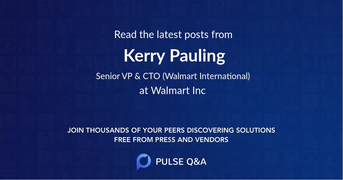 Kerry Pauling