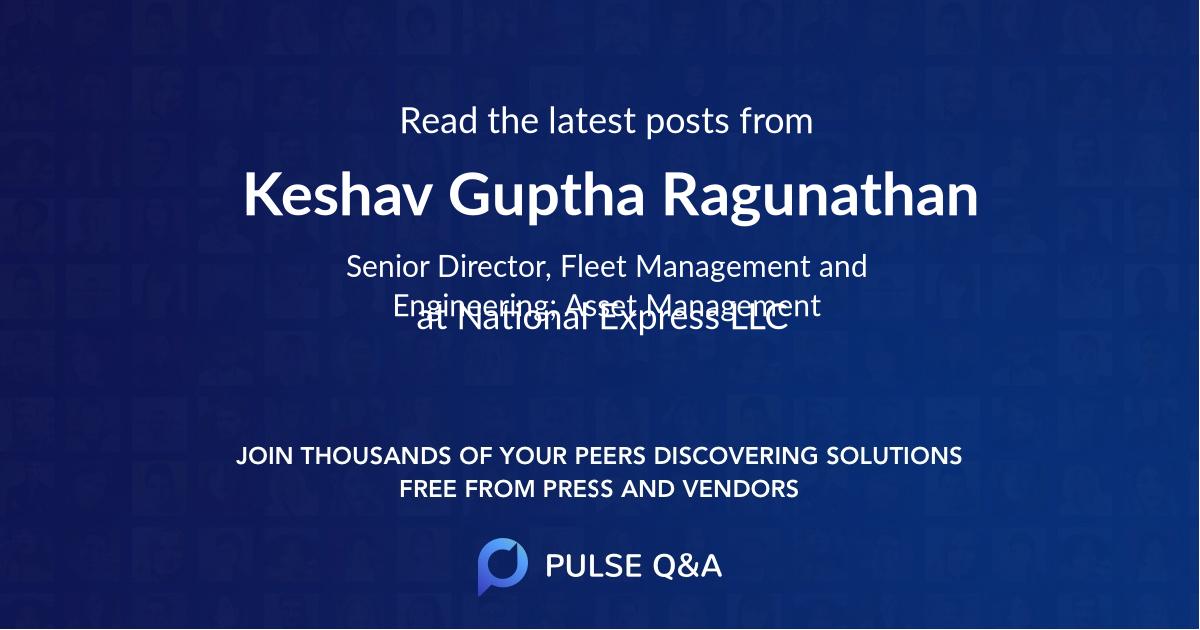 Keshav Guptha Ragunathan