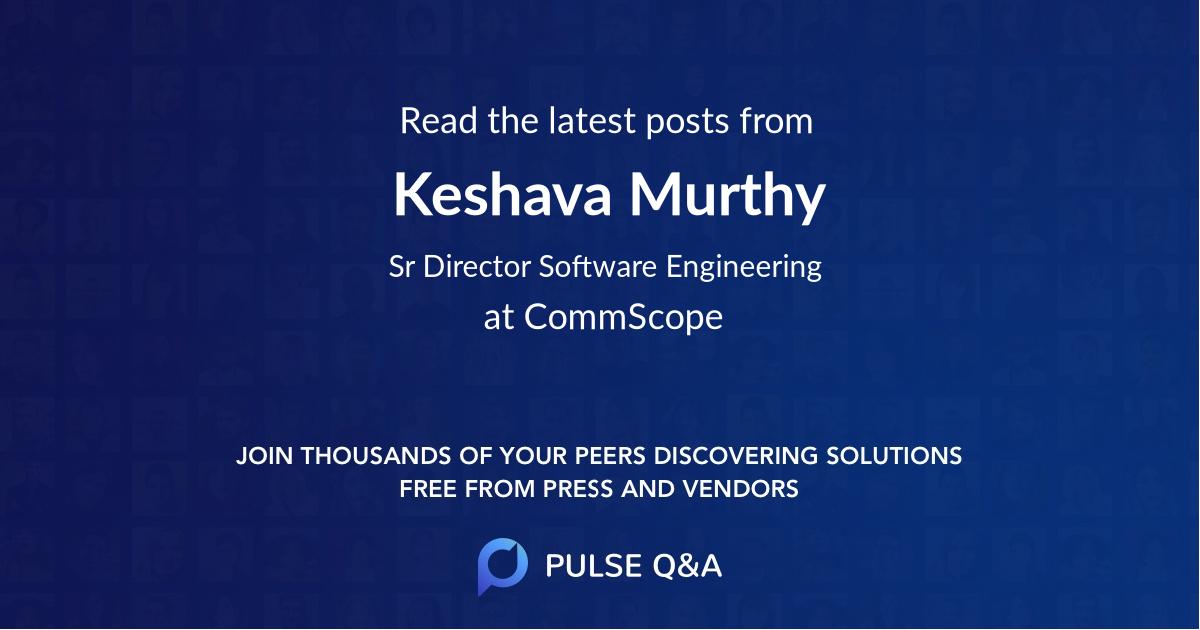 Keshava Murthy