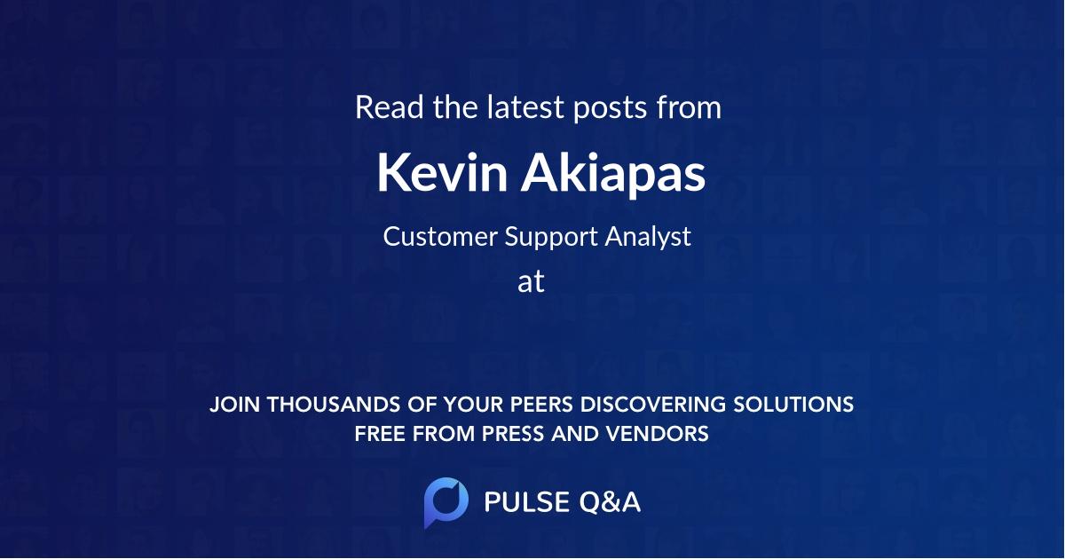 Kevin Akiapas
