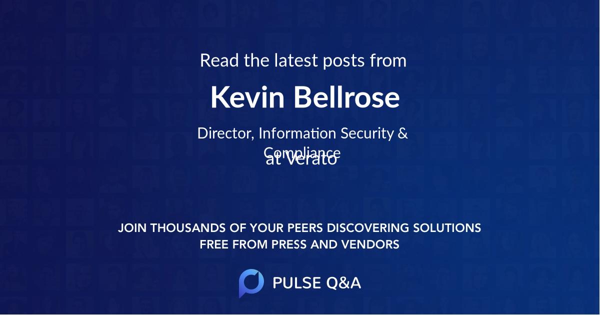 Kevin Bellrose