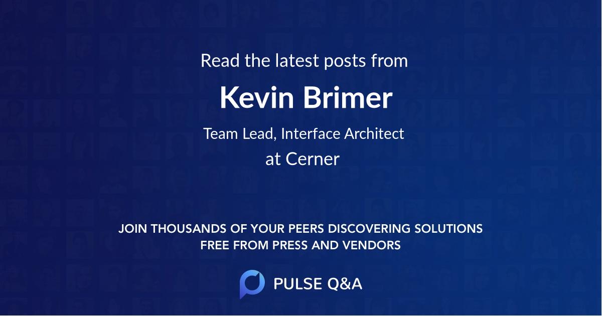Kevin Brimer