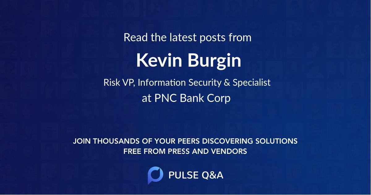 Kevin Burgin