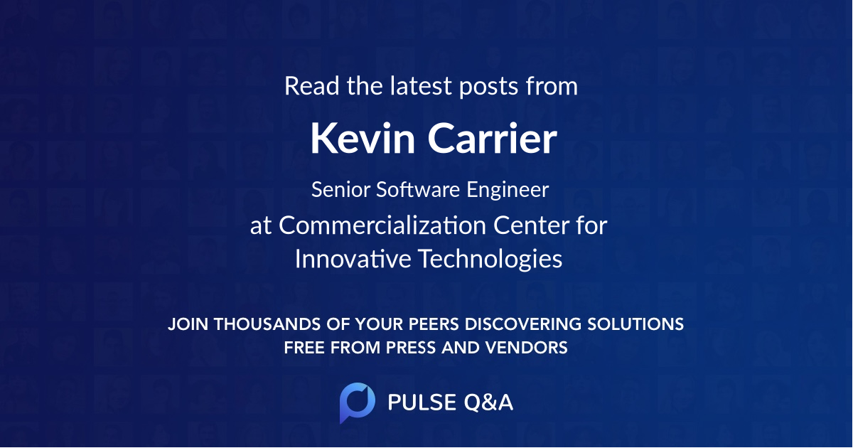 Kevin Carrier