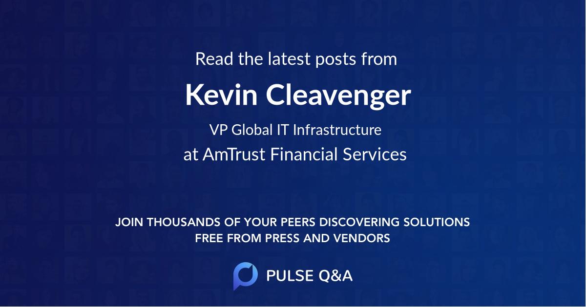 Kevin Cleavenger