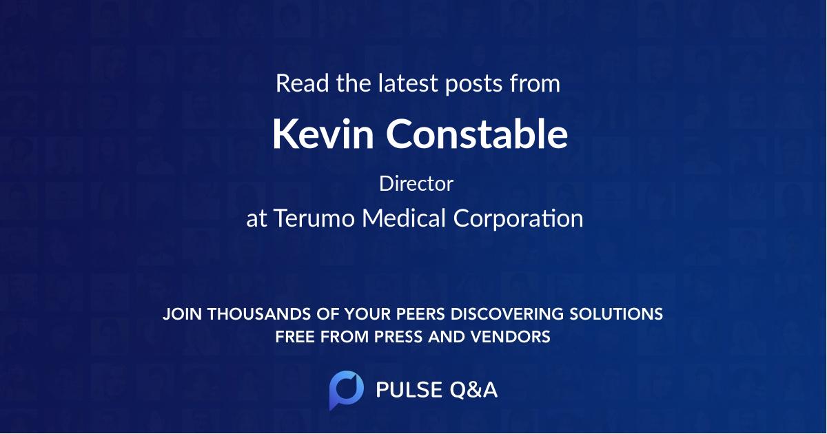 Kevin Constable