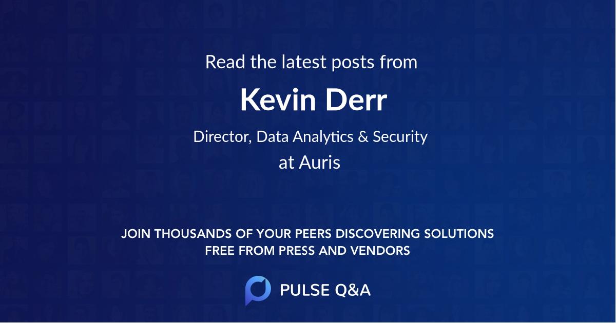Kevin Derr