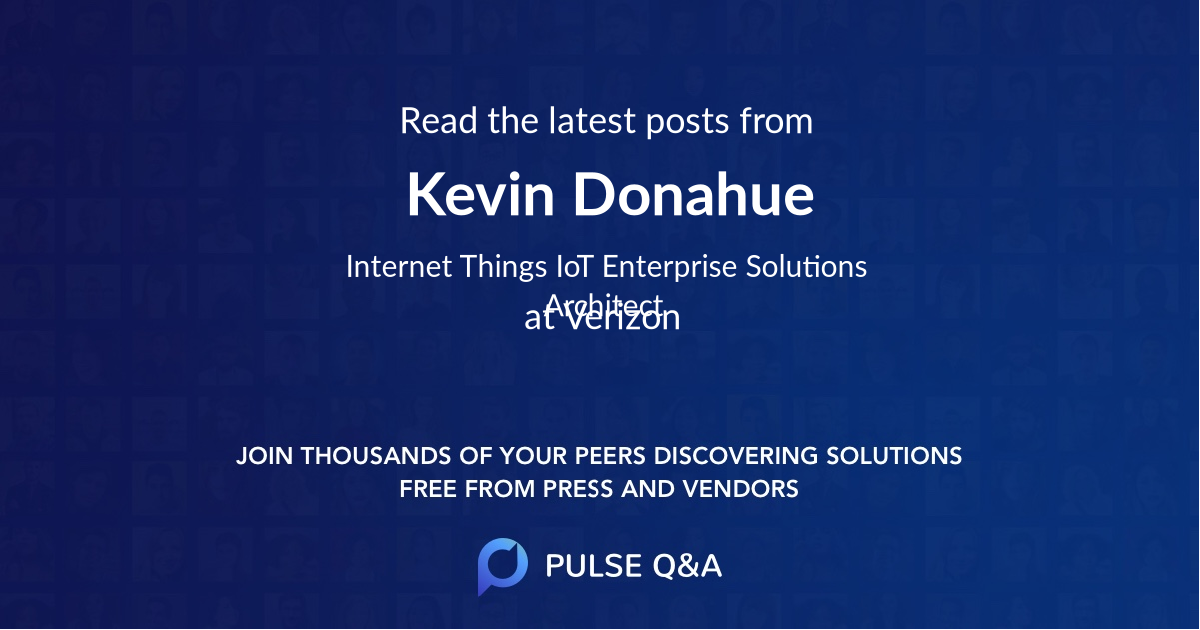 Kevin Donahue