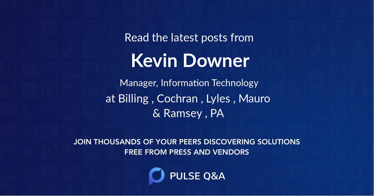 Kevin Downer