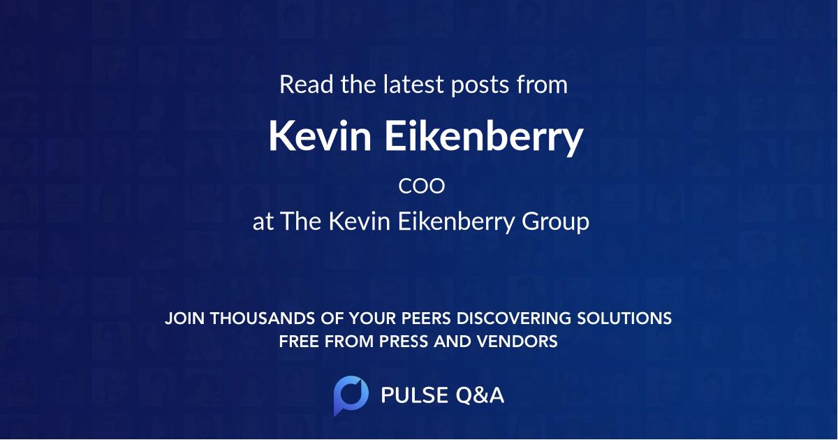 Kevin Eikenberry
