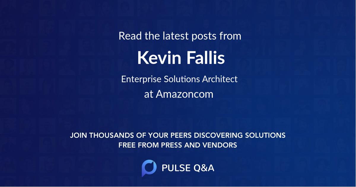 Kevin Fallis