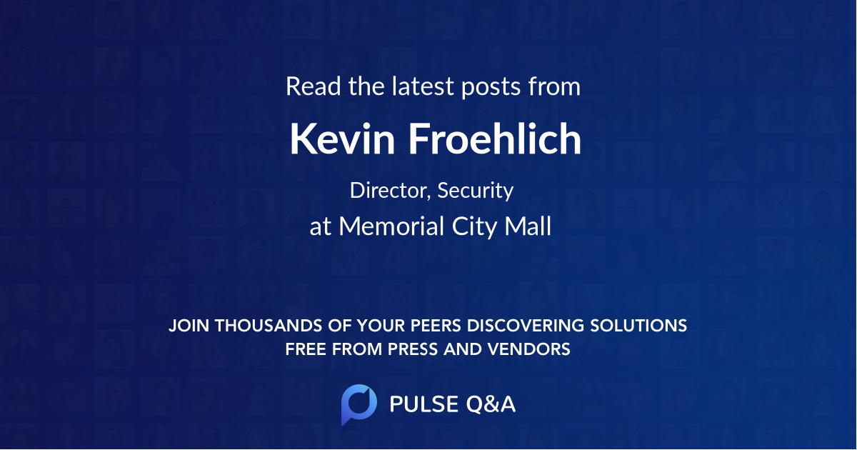 Kevin Froehlich