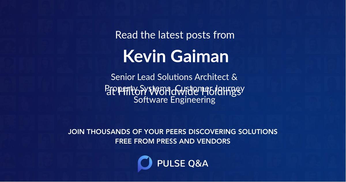 Kevin Gaiman
