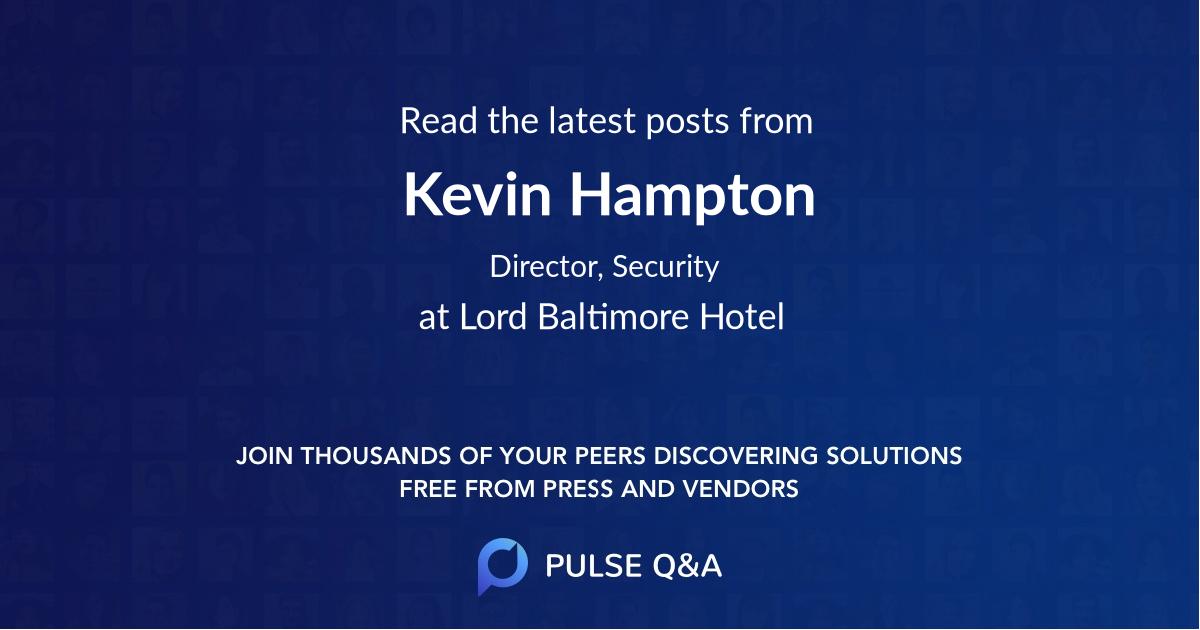 Kevin Hampton