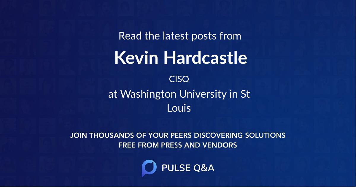 Kevin Hardcastle