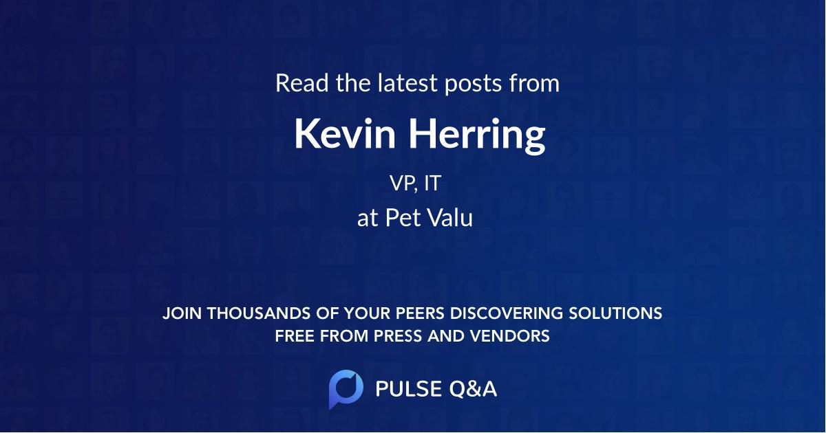 Kevin Herring