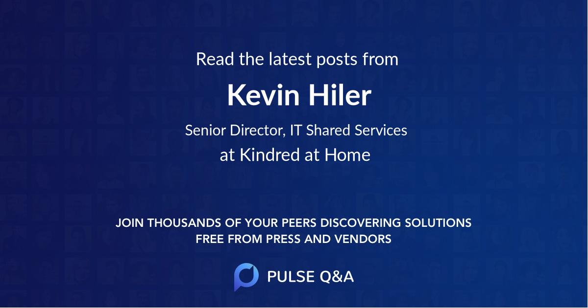 Kevin Hiler