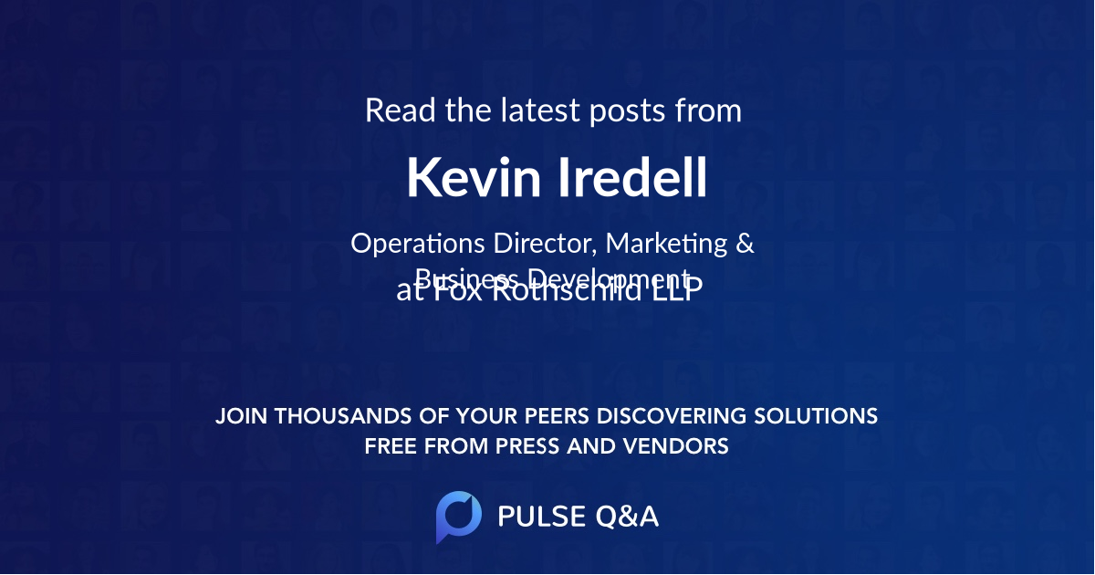 Kevin Iredell
