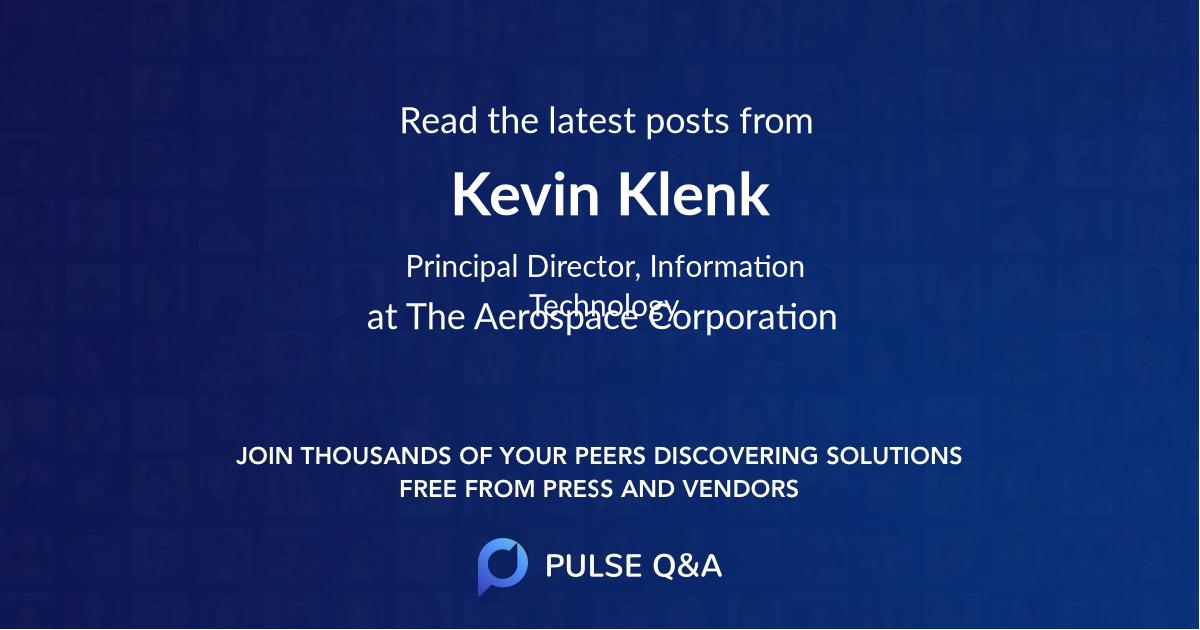 Kevin Klenk