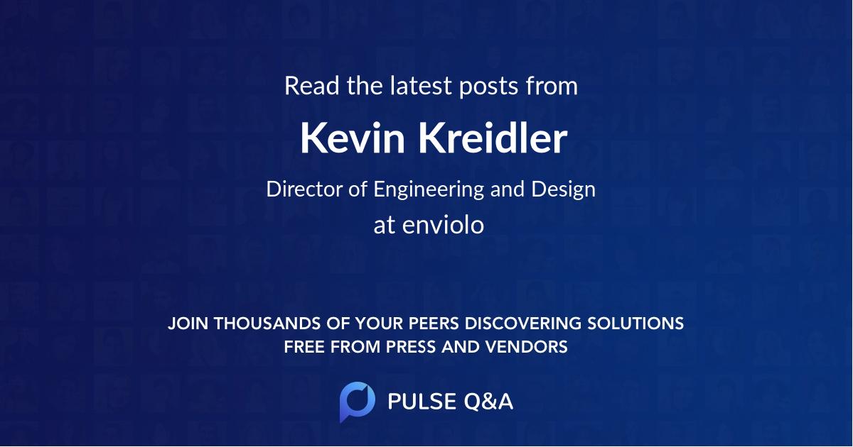 Kevin Kreidler