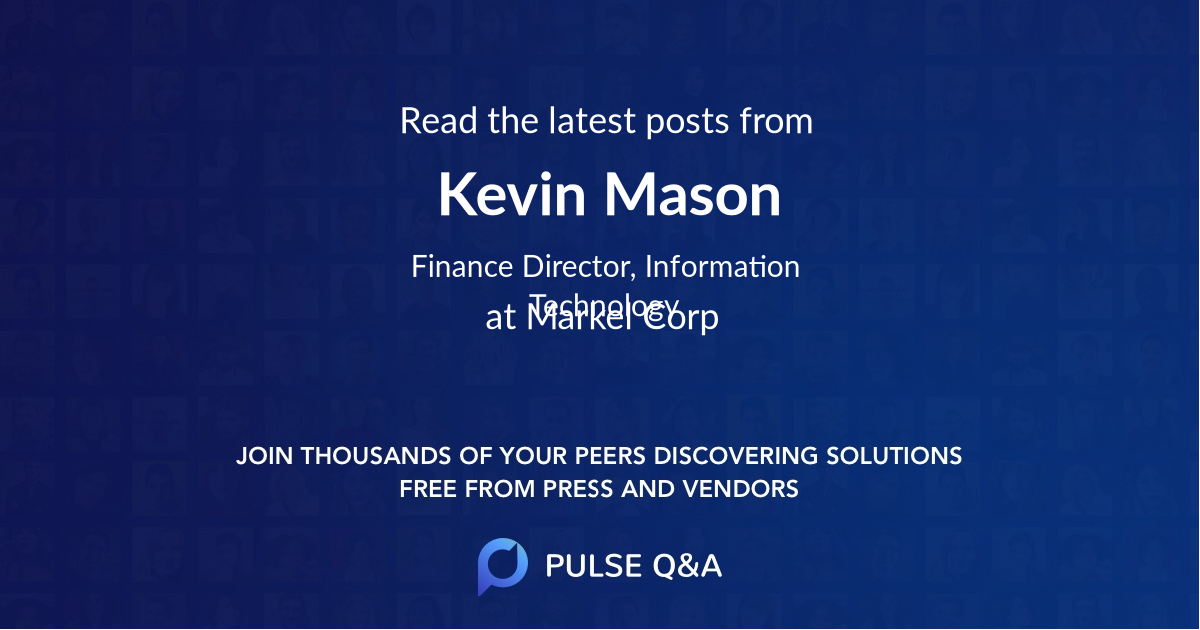 Kevin Mason